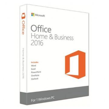 Microsoft Office 2016 Home & Business, PKC (OEM), Licence, 32 & 64 bit, Medialess